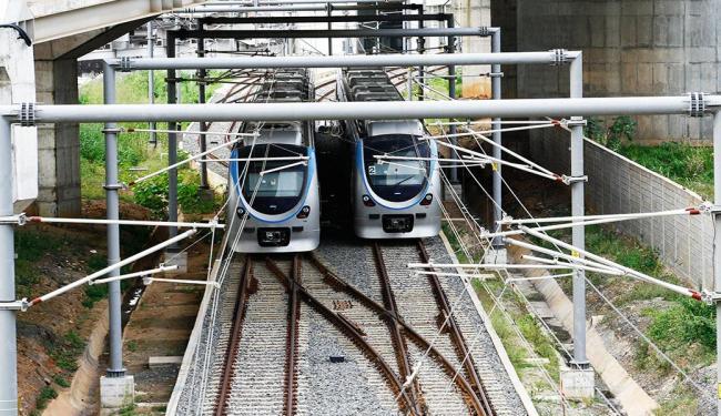 Nesta quarta, 21, será feita abertura da proposta econômica para o sistema metroviário de Salvador - Foto: Margarida Neide | Agência A TARDE
