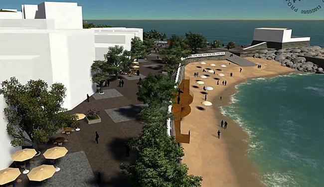 Revitalização vai do Porto da Barra até o Barra Center - Foto: Divulgação | Agecom Salvador