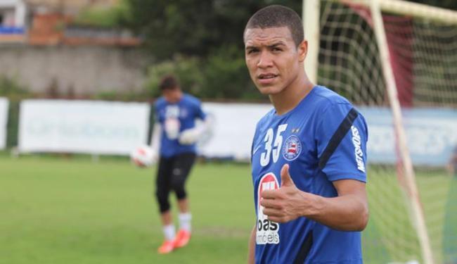 Marquinhos Gabriel é um dos jogadores poupados da estreia na Copa Sul-Americana - Foto: Edilson Lima/ Ag. A TARDE