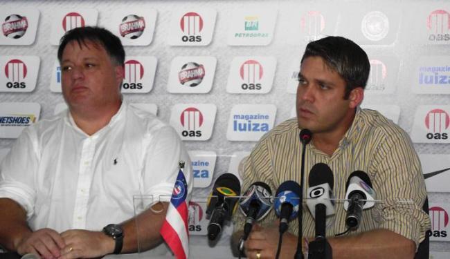 Ex-funcionário diz que MGF foi consultado pelo diretor de futebol Anderson Barros antes da demisão - Foto: Assessoria do Bahia / Divulgação
