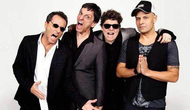 Banda Titãs vai apresentar canções inéditas que podem fazer parte do próximo álbum - Foto: Marcos Hermes | Ag. A TARDE