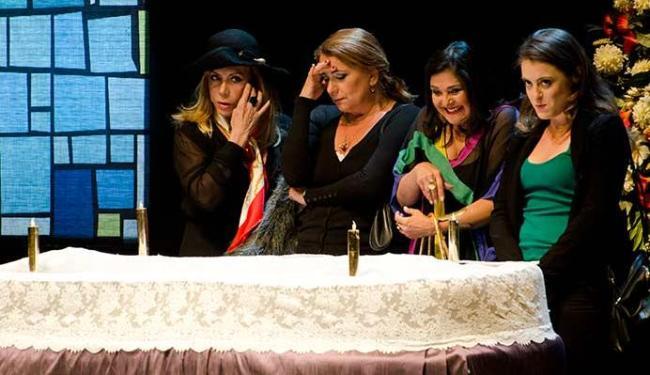 Arlete Salles, Elizângela, Patricya Travassos e Alessandra Maestrini.estrelam espetáculo - Foto: Fernanda Sebança | Divulgação