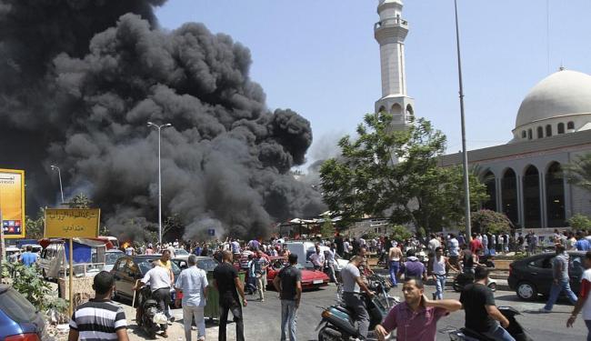 Centro da cidade foi um dos primeiros pontos atingidos pelas explosões - Foto: Agência Reuters