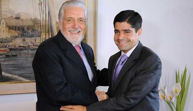 Jaques Wagner e ACM Neto ainda não responderam ao convite do GGB - Foto: Angelo Pontes | Agecom