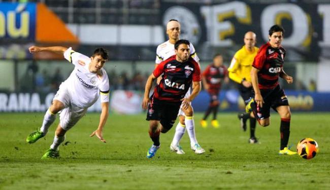 Leão não fez boa atuação e foi derrotado na Vila - Foto: Leandro Martins /FUTURA PRESS/ESTADÃO CONTEÚDO