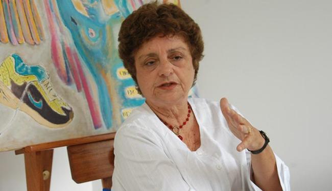 Sônia Coutinho, 74 anos, faleceu no último sábado, em decorrência de uma parada cardíaca - Foto: Walter de Carvalho | Ag. A Tarde