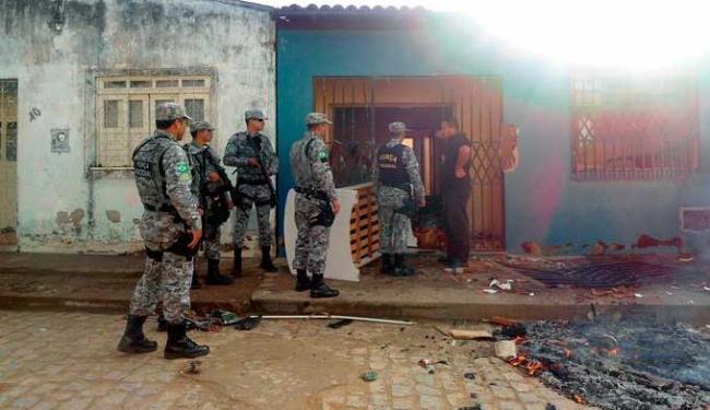 Situação é tensa em Buerarema por causa de disputa de terra - Foto: Gilvan Martins / Ag. BAPress/Folhapress
