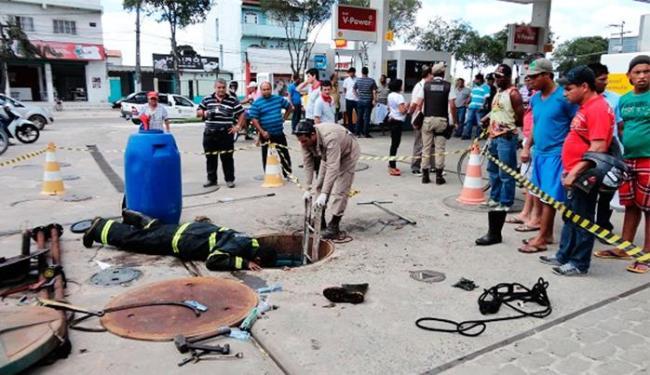 Acidente aconteceu no Posto Caraípe, na região central da cidade - Foto: Foto   Site Liberdade News