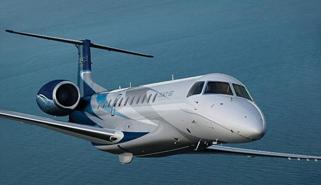 Jato foi construído em joint-venture da Embraer com empresa chiensa - Foto: Divulgação | Embraer