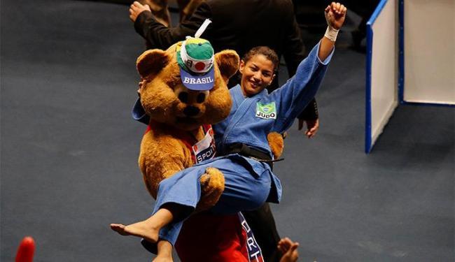 Judoca piauiense teve o melhor desempenho entre os brasileiros no primeiro dia do Mundial - Foto: Sergio Moraes l Reuters