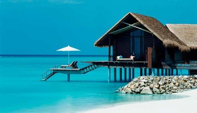 Ilhas Maldivas é um dos lugares paradisíacos que o sortudo vai viajar durante um ano - Foto: Divulgação