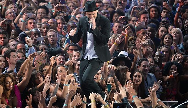 Justin Timberlake durante apresentação no VMA - Foto: Divulgação