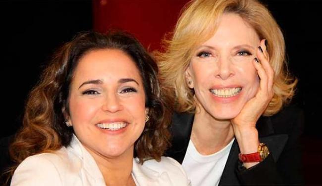 Daniela converou com a apresentadora Marília Gabriela - Foto: Carol Soares | Divulgação | SBT
