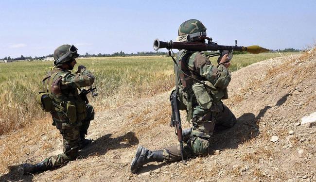 Intervenção militar do ocidente está cada vez mais próxima, segundo jornal - Foto: Sana Handout   Efe