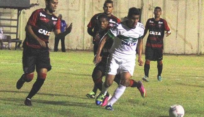 Equipe júnior do Vitória derrotou o Coxa nos pênaltis e enfrenta o Sport na semifinal - Foto: Diego Marinelli - Coritiba Futebol Clube / Divulgação