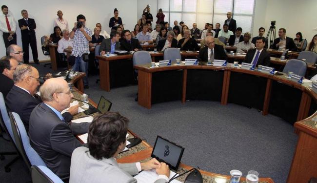 O encontro contou com cerca de 40 convidados e autoridades de Salvador - Foto: Joá Souza / AG. A TARDE