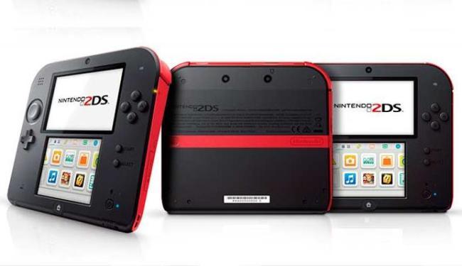 Nintendo 2DS é a nova aposta da empresa coreana para dispositivos portáteis - Foto: Divulgação
