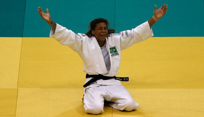 Rafaela venceu a americana Marti Malloy na final - Foto: Sergio Moraes | Reuters