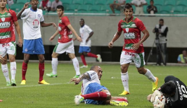 Bahia pouco atacou, mas administrou a vantagem e conseguiu a vaga na fase internacional da Copa - Foto: Margarida Neide | Ag. A TARDE