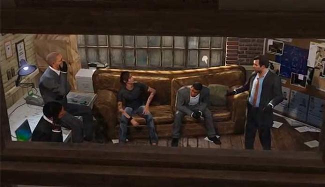 Gangue se reúne para mais um assalto no trailer de GTA V - Foto: Divulgação