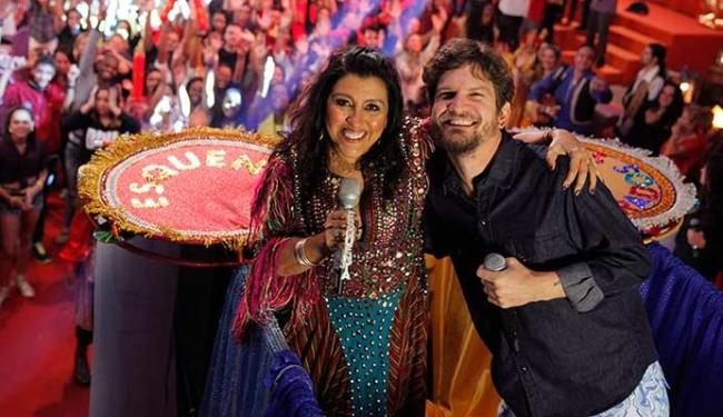 Saulo revelou que vai puxar bloco sem cordas no programa Esquenta, que vai ao ar no domingo, 1º - Foto: João Januário | TV Globo