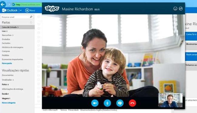 Famílias que estão longe usam o programa para se verem na chamada de vídeo - Foto: Divulgação