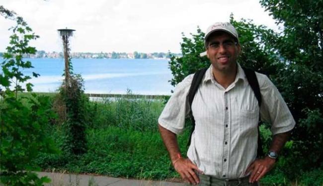 Sujay Kausha chefiou o estudo e visitou rios em New Hampshire, nos Estados Unidos - Foto: Reprodução | Facebook