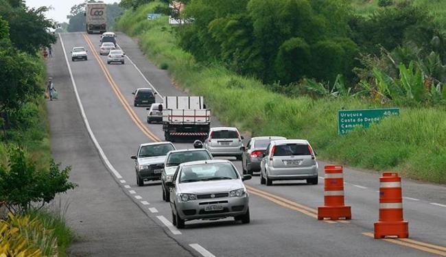 Trecho da 101 em Itabuna: governo prevê investimentos de R$ 4,61 bi na rodovia - Foto: Joá Souza   Ag. A TARDE
