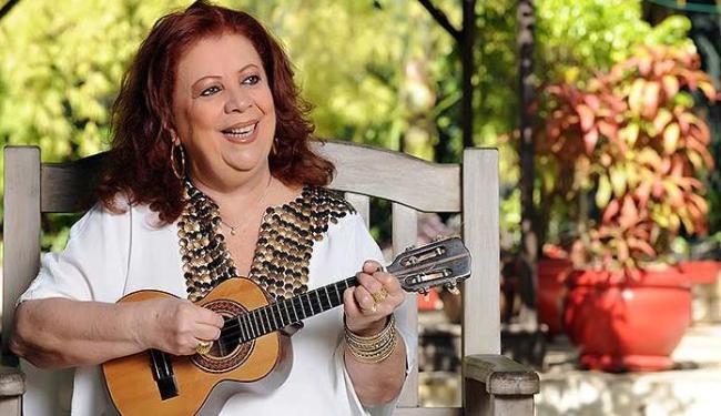 Beth Carvalho, recuperada, vai divulgar disco lançado em 2013 - Foto: Washington Possato   Divulgação