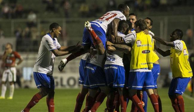 Esquadrão espera repetir neste sábado, às 18h30, o bom desempenho nos jogos recentes no Canindé - Foto: DANIEL VORLEY / ESTADÃO CONTEÚDO