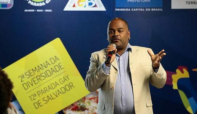 Marcelo Cerqueira, presidente do GGB, apresenta programação da 2ª Semana da Diversidade - Foto: Mila Cordeiro | Ag. A TARDE