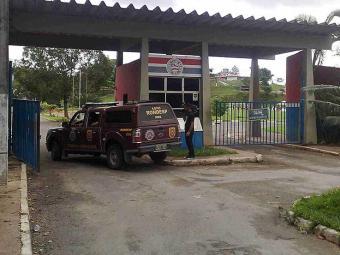 Criminosos invadiram a sala de imprensa do Fazendão - Foto: Edilson Lima | Ag. A TARDE