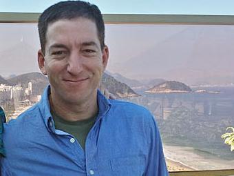 Glenn Greenwald também denunciou a espionagem de mensagens da presidente Dilma Rousseff - Foto: Reprodução | SFGN
