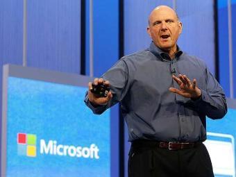 Steve Ballmer - CEO da Microsoft - Foto: Divulgação