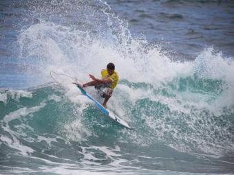 Campeonato foi disputado na Ilha de Açoes, em Portugal - Foto: Surfguru Brasil   Facebook   Reprodução