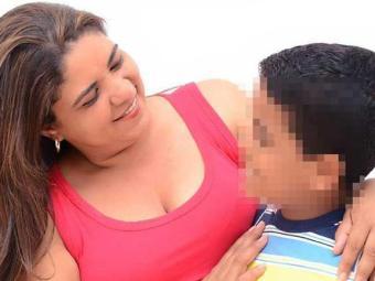 Professora conseguiu transferência na esperança de que filho sobreviva - Foto: Arquivo Pessoal