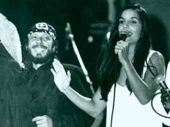 Bell e Ivete se apresentaram juntos em 1995 - Foto: Carlos Casaes   Ag. A TARDE - Arquivo