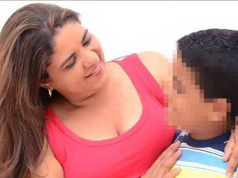 Mãe de Aldo conseguiu transferência após apelo na internet - Foto: Arquivo Pessoal