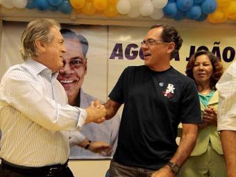 Presidente nacional do PSL, Luciano Bivar, participa de evento de filiação do ex-prefeito - Foto: Eduardo Martins | Ag. A TARDE