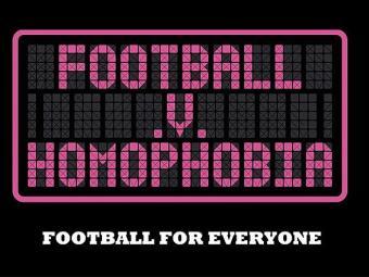 A Inglaterra é pioneira com o projeto Football v Homofobia - Foto: Reprodução l Site Football v Homofobia