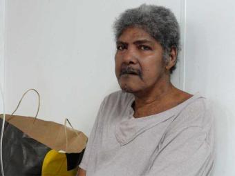 Paciente diz que se chama Edson Bispo dos Santos - Foto: Divulgação   HGRS