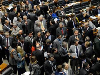 Na sessão, 455 deputados e 71 senadores mantiveram todos os vetos feitos por Dilma - Foto: Fabio Rodrigues Pozzebom | Agência Brasil