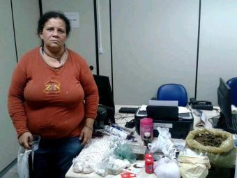 Josenise comercializa drogas em Ondina há aproximadamente 20 anos - Foto: Ascom   Polícia Civil
