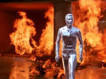 T-1000, de Terminator 2, era feito de mercúrio e se autoregenerava - Foto: Divulgação