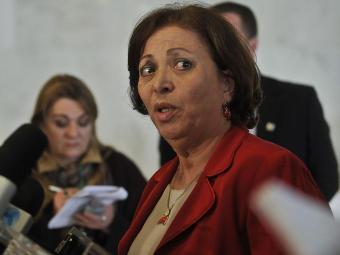 Ministra da Secretaria de Relações Institucionais, Ideli Salvatti - Foto: Antonio Cruz   Agência Brasil