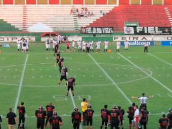 O All Saints não suportou a pressão do time visitante - Foto: Site Oficila EC Vitória | Divulgação