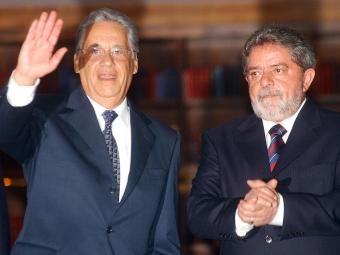 Ex-presidentes, aqui em foto de 2012, buscam soluções parecidas para vices - Foto: Carlos Humberto | BG Press | Arquivo A TARDE