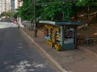Vítima vendia frutas em barraca na Rua Ceará - Foto: Reprodução   Google Maps