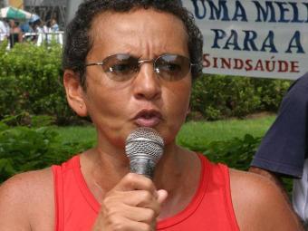 Marinalva, presidente da Fetrab, quer que cargo de confiança seja de efetivos - Foto: Eduardo Martins   Ag. A TARDE