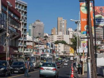 Alguns pontos de ônibus serão deslocados - Foto: Dorivan Marinho / Ag. A TARDE